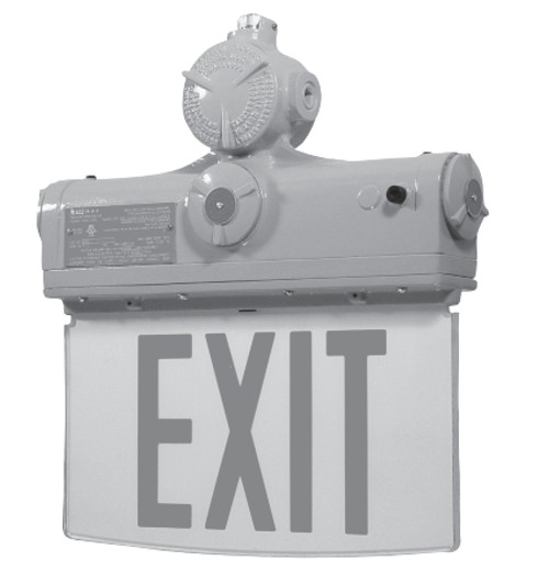 HLEX Hazardous Location LED Edglelit Exit Sign (HLEX)