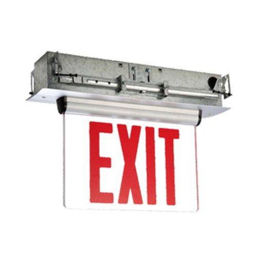 RSEL-800 LED Edgelit Exit Sign with Battery Backup (RSEL800)