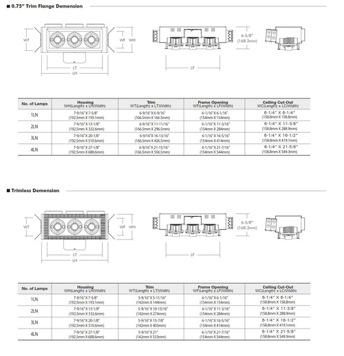 LEDMCL-N   The Multiple Cluster LED Recessed LEDMCL® Dowlight is a family of MCL series and designed by higher advanced  LED technology.   All of LEDMCL® features are provided with high end product and energy efficiency of the new LED source.