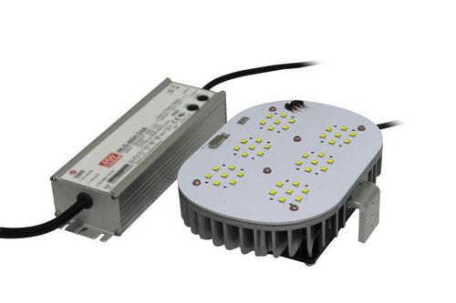 VEC-RK-80WA1 80 Watt LED Retrofit Kit to Replace 175w HID in Shoeboxes, Wallpacks, Cobra Head, High and Lowbay fixtures.