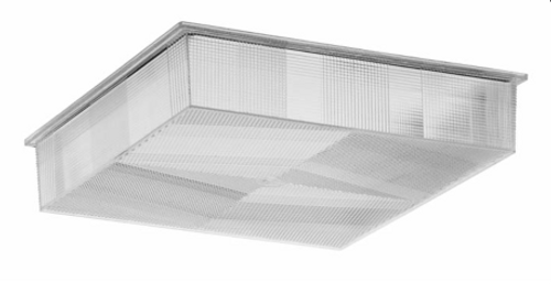 """LEX-305-A  12"""" x 12"""" Acrylic Lens Replacement for Canopy Fixtures"""