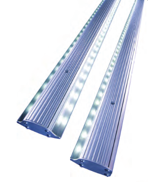 CaseLight LED Cooler Lights for COMMERCIAL DISPLAY CASES replace fluorescent fixtures in cooler, refrigerated, freezer food and beverage display cases. Produced by ILT, a US-Based Manufacturer with 50 YEARS of Lighting Experience. Flexible CaseLight modules can be retrofitted into many different commercial cooler case configurations in both Grocery and Convenience Stores.