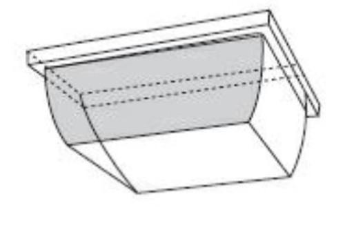 VPAR-CV-300 Polycarbonate Replacement Canopy Light Lens