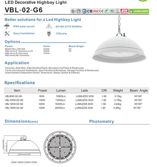 Decorative LED Highbay