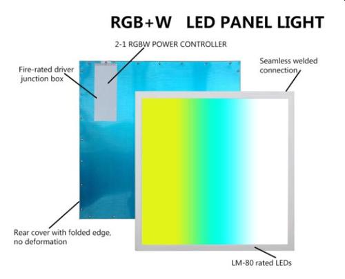 LED RGB+W  Flat Panel
