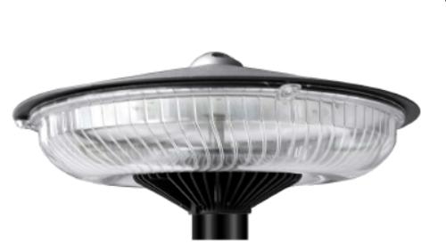 60 Watt LED Round Post Top Light