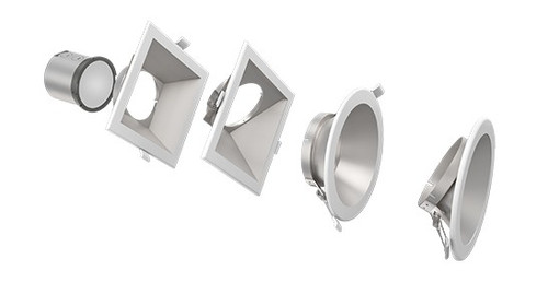 """4"""" ,6"""" and 8"""" New Construction/Retrofit Commercial Downlight"""
