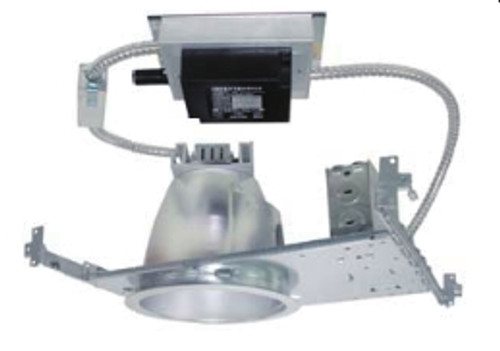 """9"""" flat frame-in kits combined with LED module and integral reflector. This is designed for use in non-insulated ceiling. Insulation material must be kept a minimum of 3"""" from fixture. Provided in high efficacy LED with dimmable driver and the special optical diffusion allows high lumen transmission and light uniformity."""