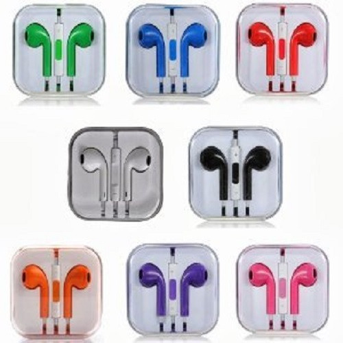 Earphone Earbud Headset Headphone Lot 10x pcs. MIX Color/Barcode.