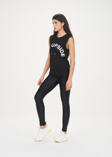 WOMENS MUSCLE TANK - BLACK [USW019003]