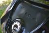 Spyder RT Coffre Arrière - Autocollant 3M - Fibre Carbone Noir