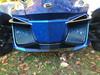 Grilles avant pour RT 2014 et plus - Carbone  Bleu -  Logo RT