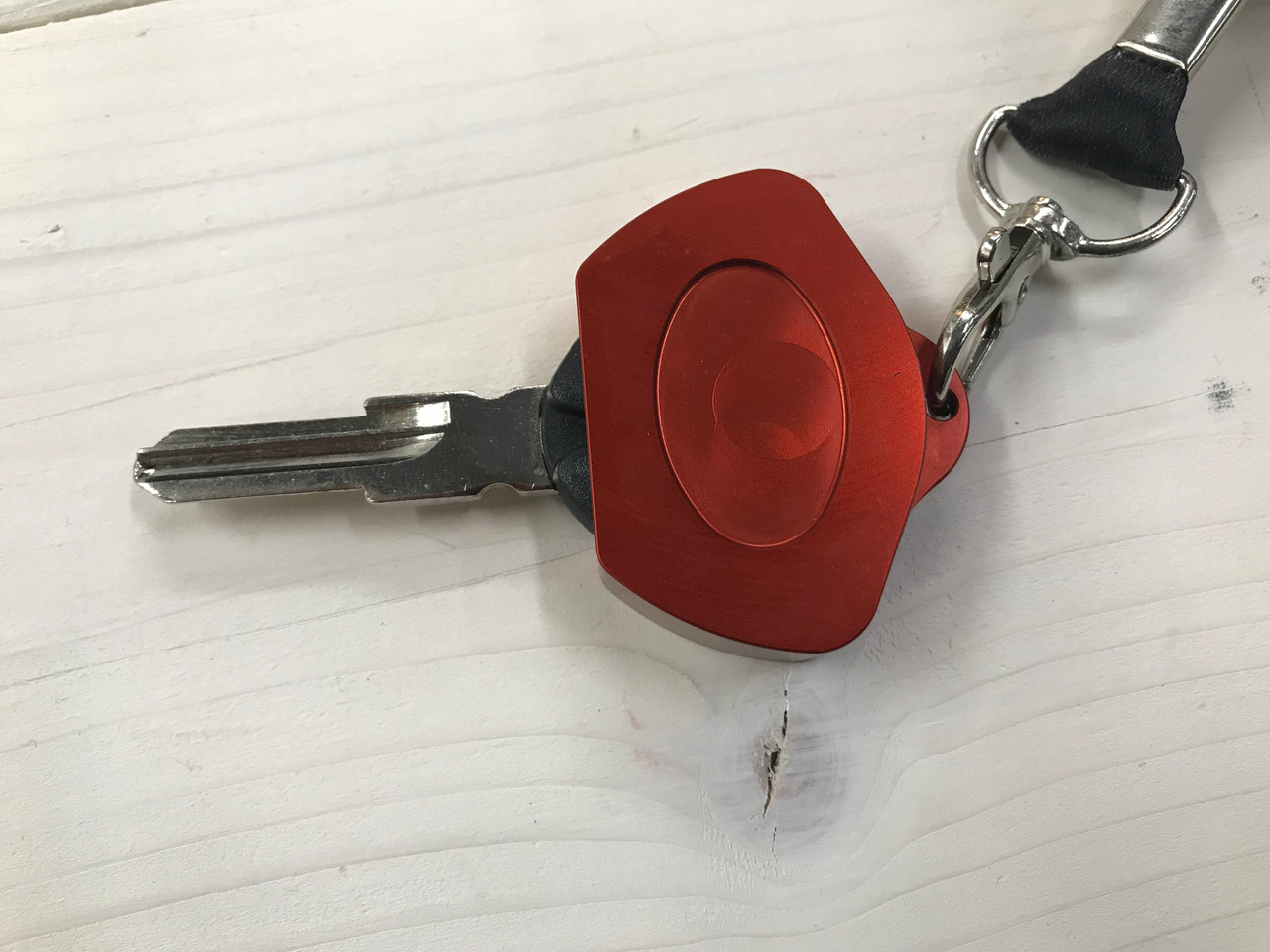 Porte-Clef Can-Am Spyder - Aluminium Anodisé Couleur