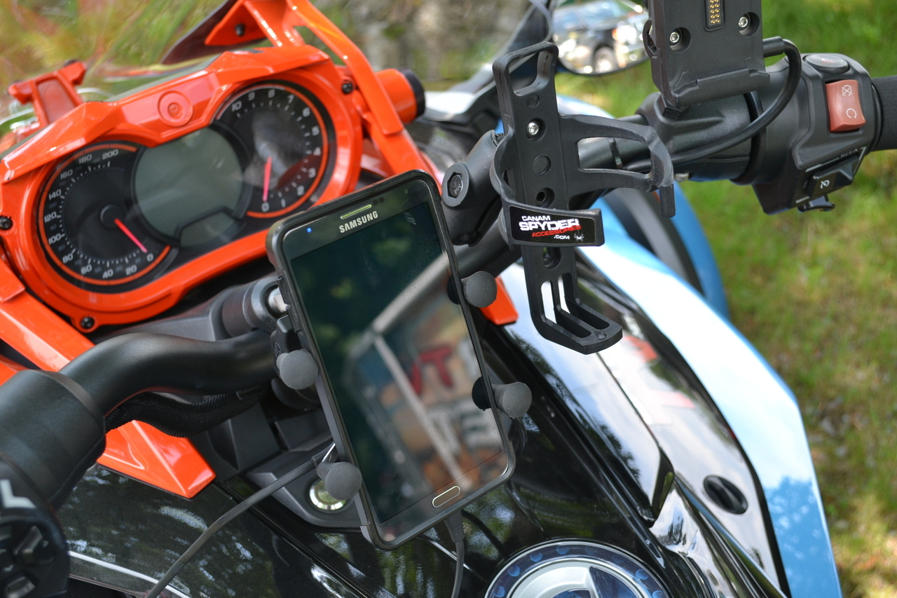 Support GPS/Cell X-Grip Avec Chargeur USB Intégré