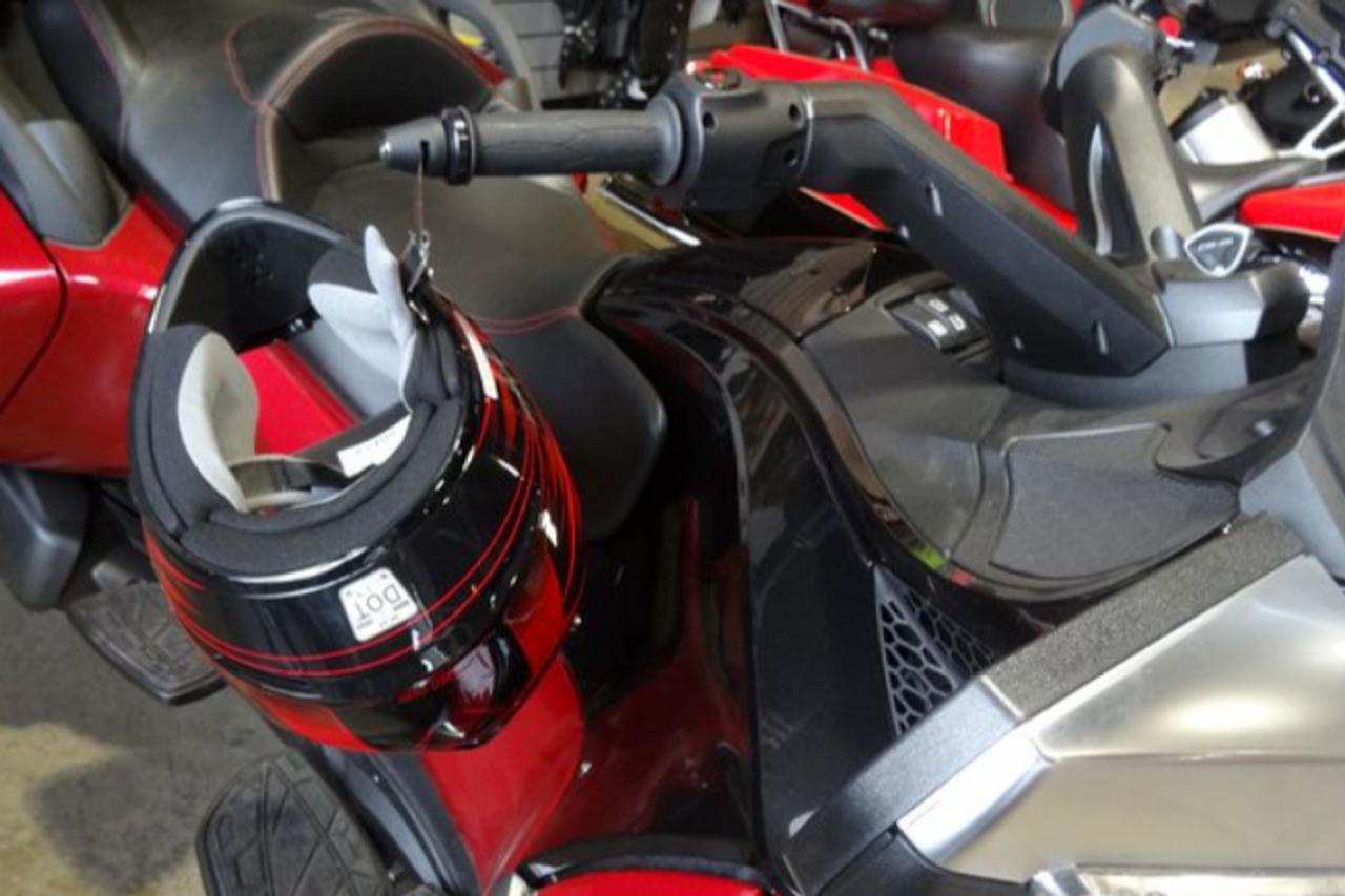 NOIR Lidlox Serrure Pour Casque De Moto pour Spyder (PAIRE)