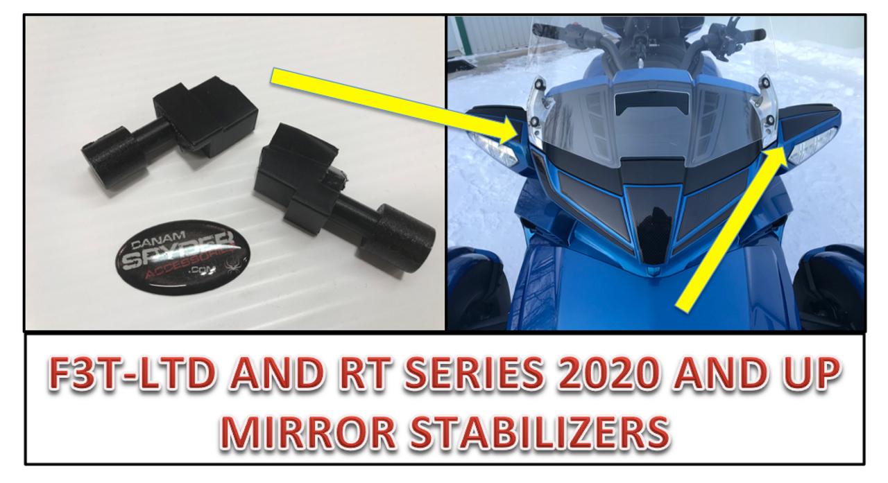 Stabilisateurs Ultime Pour Miroirs - F3T/LTD et RT 2020 et plus