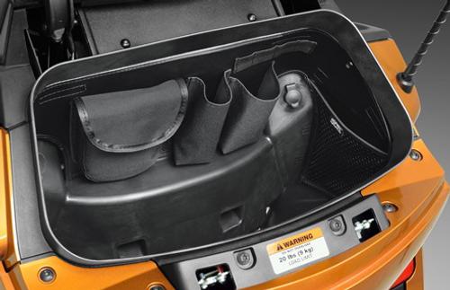Spyder RT Rangement coffre arrière (Show Chrome)