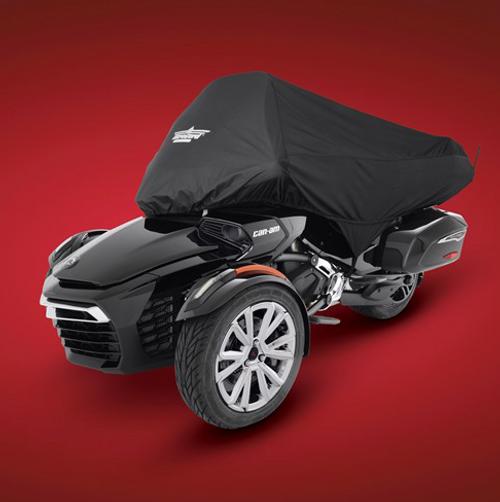 Spyder F3 Demi-Toile Pour F3T/LTD AVEC Coffre Arrière