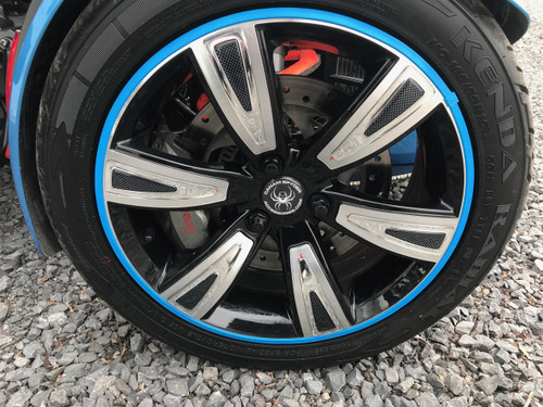 Can Am Spyder Rim Savers - Choix de 8 couleurs