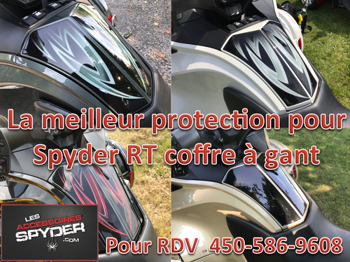Spyder RT Protection coffre à gant - Urethane - Série Tribal 7 couleurs