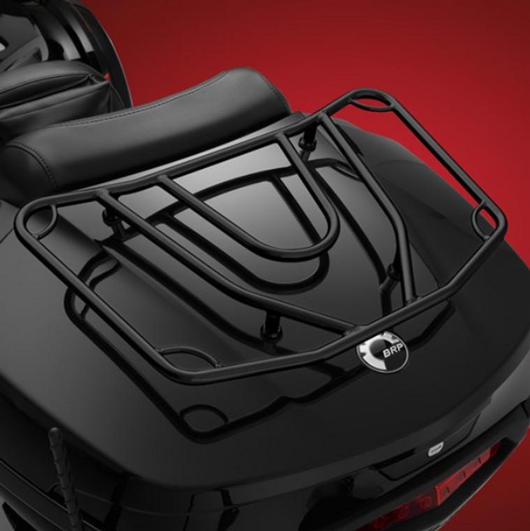 Spyder F3T/LTD et RT/RTS 2020 et plus Porte-Bagage Noir (Pour Le Top Case)