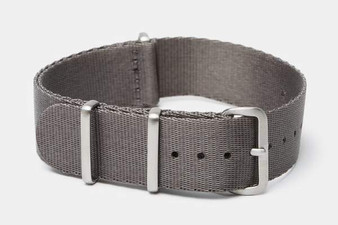 "22mm Gray ""SB"" Seat Belt strap"