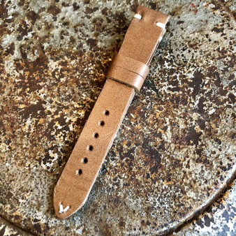 Custom Hand Made Horween Old West Leather Strap