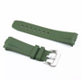 Curved end rubber strap for Panerai Luminor