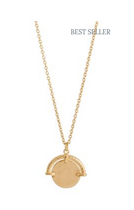 BLAZE GOLD NECKLACE