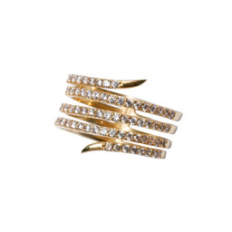 SUZANNA GOLD RING