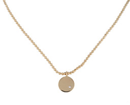 AYDA INITIAL NECKLACE