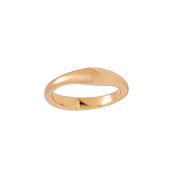 REESE GOLD STACKING RING