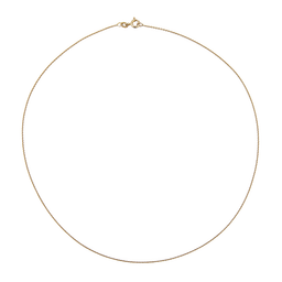 9ct SOLID GOLD CHAIN (45CM)