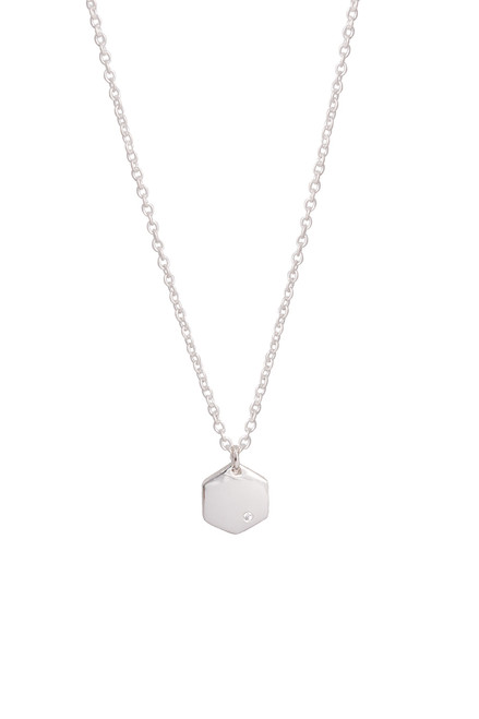 BLANCHE SILVER NECKLACE
