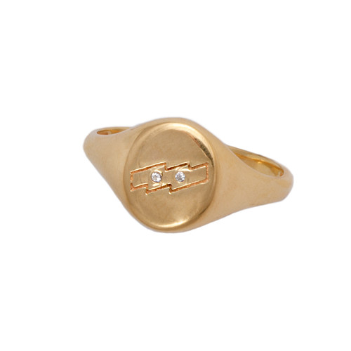 SCARLETT GOLD RING