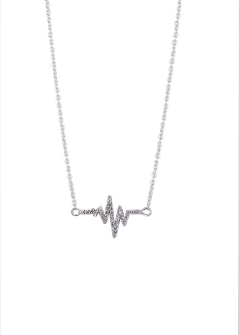 CHIARA SILVER NECKLACE