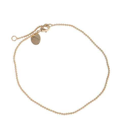 AUBREY GOLD BEADED ANKLET