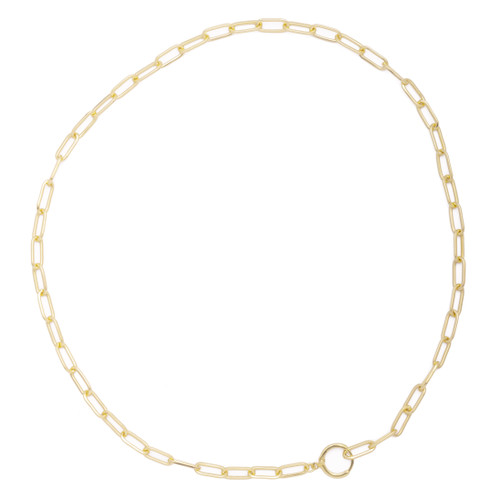 ABIGAIL LONG CHAIN LINKS NECKLACE