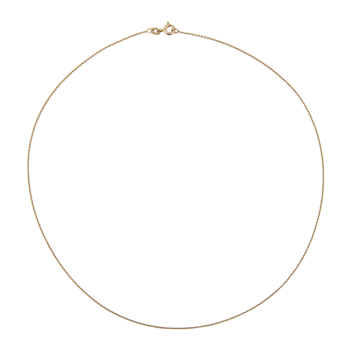 9ct SOLID GOLD CHAIN (42CM)