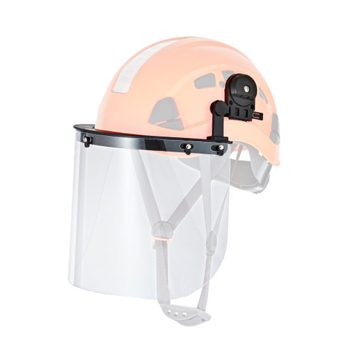 Defender Safety Face Shield and Mounting Bracket for Hard Hats (H1 Series)