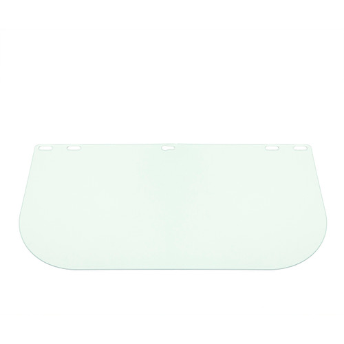 Defender Safety Face Shield Replacement, Clear Polycarbonate Shield for Hard Hats/Helmets (H1 Series)