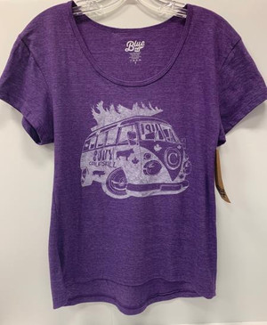 RETRO SCOOP NECK Triblend T-shirt