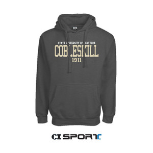 CI HOODED SWEATSHIRT