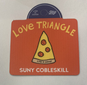 LOVE TRIANGLE MAGNET