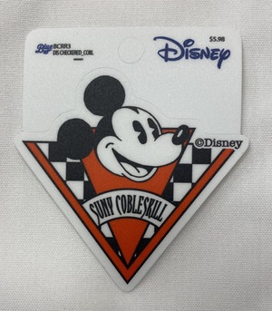 Disney Checkered Sticker