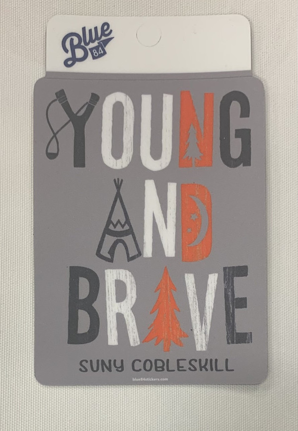 YOUNG AND BRAVE MAGNET