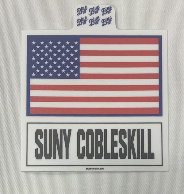 New Flag Sticker