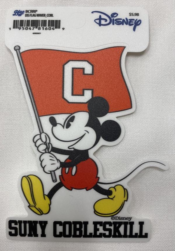 Disney Flag Waver Sticker