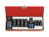 "INHEX Hex head Socket set IMPACT 3/4""Dv  King Tony Superior Quality"