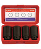 "4pc SPINDLE NUT SOCKET SET 1/2"" Drive Genius"